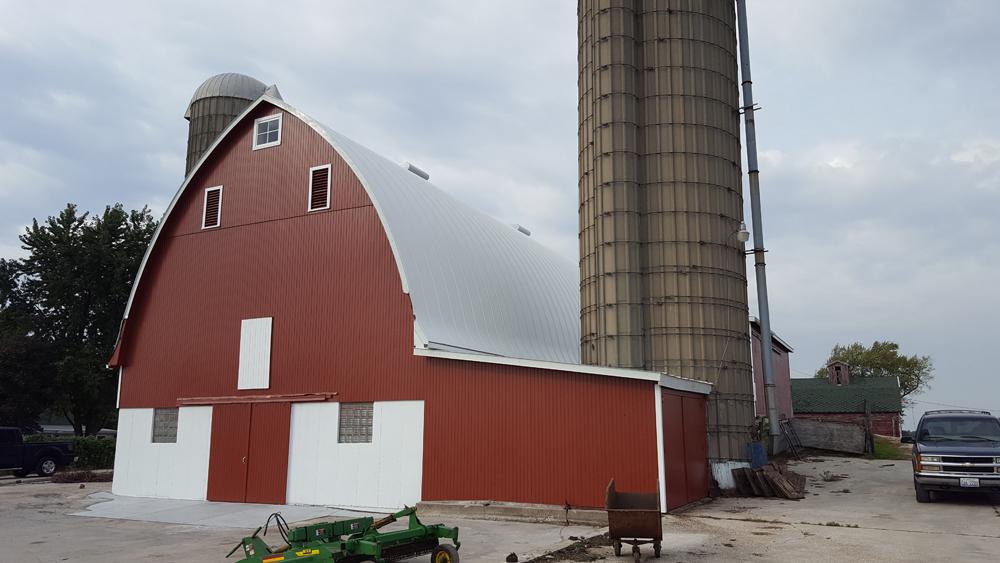 Farm Barn Painted