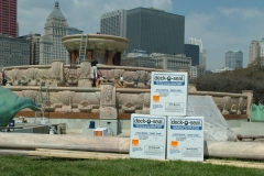 Buckingham Fountain Deck O Seal