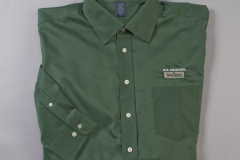 Shirt Green Long Button