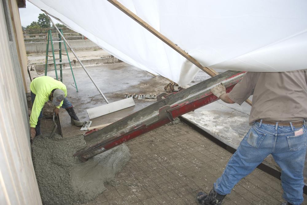 Concrete Pour Fiber
