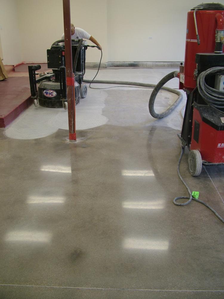 Polished Concrete Finish